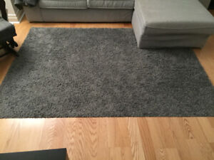 Hamper grey rug ikea