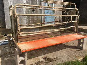 Farrowing Crate and Flooring