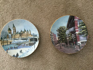 Roger Witmer's Limited edition plates