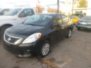 2012 Nissan Versa SL AUTOMATIC SAFETY + E TEST + 1 YEAR WARRANTY