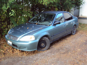 For Sale, for parts `99 Honda Civic SE