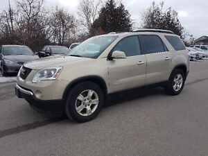 2009 GMC Acadia AWD * 7 Passenger, SUNROOF, Leather, HTD STS *