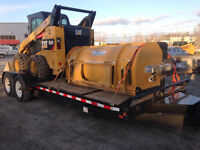 HLA 3500 series Snow Pusher 7' wide for Skid Steer