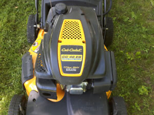Cub Cadet self propelling, electric start excellent condition