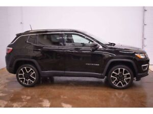 2018 Jeep Compass LIMITED 4X4 - NAV * LEATHER * HTD SEATS