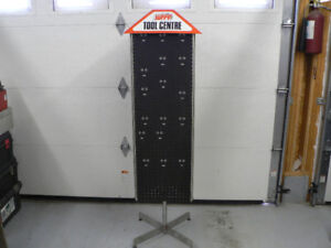 Commercial Swivel Tool Display Stand