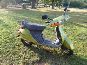 SOLD 1980 honda NH80 scooter
