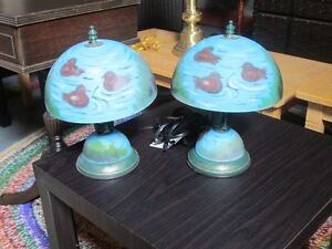 VINTAGE SET OF LAMPS