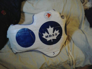 tkd chest protector as new spareone