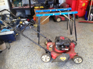 Non Working Lawn Mower - Spring Mechanism For Chock Messed Up