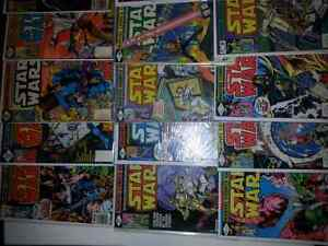 21 Star wars vintage  comics Cambridge Kitchener Area image 3