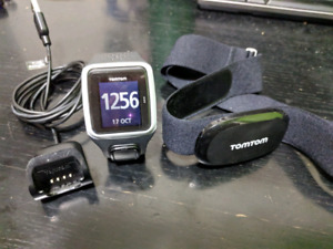 Tomtom gps running watch with heart rate monitor