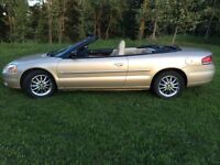 Amazing condition Chrysler Sebring Convertible