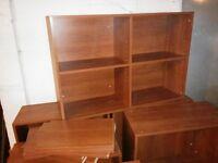meubles divers:tables, chaises, bureaux, etageres , lit, mirroir