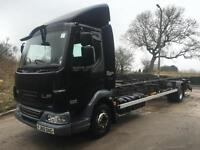 2011 DAF LF 45.210 EEV, 12tonne, 24ft demount chassis, tail-lift, air suspension