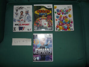 Lot of wiii games