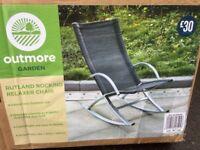 New garden rocking chairs