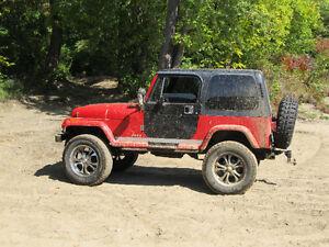 1989 Jeep Wrangler Convertible