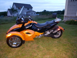 2008 Can-Am Spyder numbered Edition