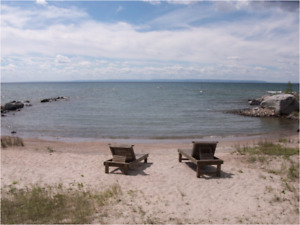 Waterfront  Cottage Private Beach on Georgian Bay BEST
