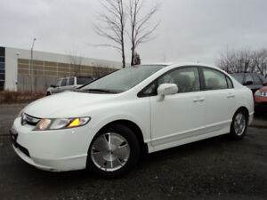 2007 HONDA CIVIC HYBRID 1.3 L A GAS SAVER LOW KMS ACCIDENT FREE