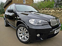 2012 BMW X5 3.0 40D XDRIVE M SPORT. OVER £6.5K OF FACTORY OPTIONS !!