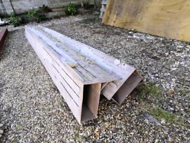 2x 3m steel box lintels