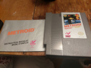 Metroid - Nintendo NES - Classic Game Original Cartridge