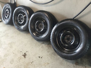 4 GT Radial Winter Tires - GREAT SHAPE - 265/65R17