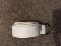 White fabric belt from Next - unisex