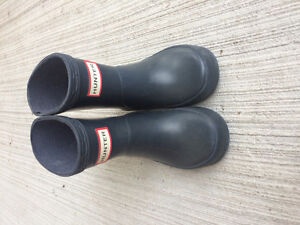 Hunter boots size 4 kids