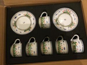Hand Painted tea set