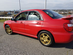 2004 Subaru Impreza 2.5 Flat 4 RS RALLY SPORT Sedan