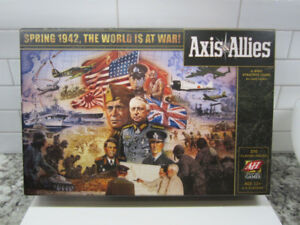 Axis & Allies Spring 1942 Avalon Hill Board Game WW2 NEW!