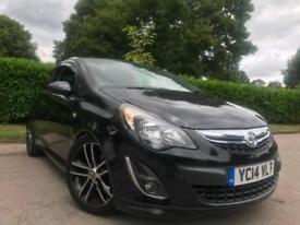 VAUXHALL CORSA 1.4i TURBO BLACK EDITION 2014!