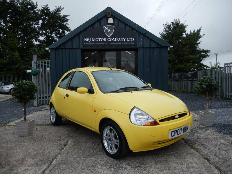 Ford Ka   Style Yellow