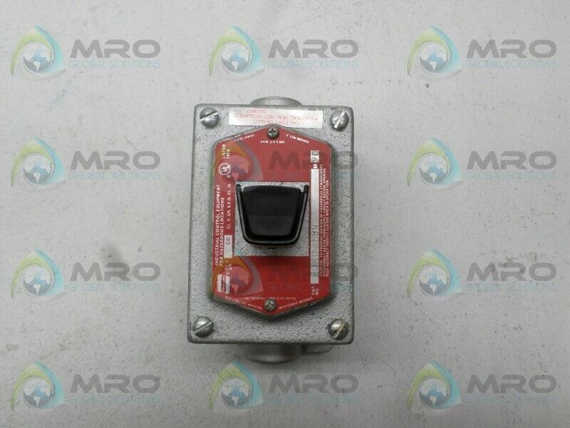 CROUSE-HINDS EDSC2184 SAFETY STOP SWITCH *NEW NO BOX*