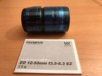 Olympus M.ZUIKO DIGITAL ED 12–50mm 1:3.5–6.3 EZ Lens