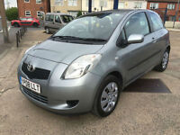 2008 Toyota Yaris 1.0 T3 80,000 MILES FULL HISTORY 1 OWNER FROM NEW!!!
