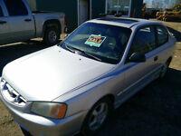 2002 Hyundai Accent GSI Hatchback