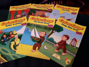 Curious George Book Series. Level 1 (Ages 5-7, Grades 1-2)