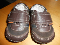 """Boys """"Christopher"""" Pediped leather shoes 6-12 months"""