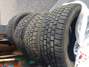 16 inch Winter Tires - Great Condition - 1/2 Season Use