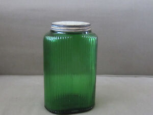 Hoosier Glass Canister Jar