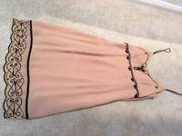 Nude Rebecca Davies Evening Dress size XS