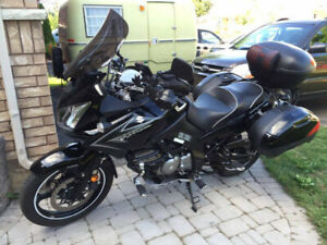 Vstrom DL650A Suzuki 2009 - NOT your average Vstrom