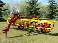 New Holland Model 258 10' Side-delivery SD Hay Rake