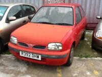 Nissan Micra 1.0 16vFOR SPARES ONLY 23000 MILES CAR IS RUNNING MOT FAILURE