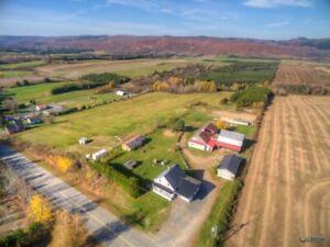 St-Tite, ferme, domaine, étable, grange à veaux, saloon, garages