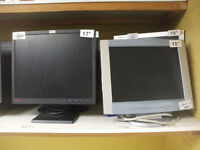 """17"""" monitors $20 (and 15"""" for $10)"""